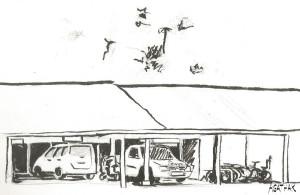 1908 garage