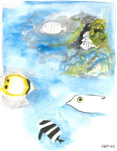 juveniles de poissons